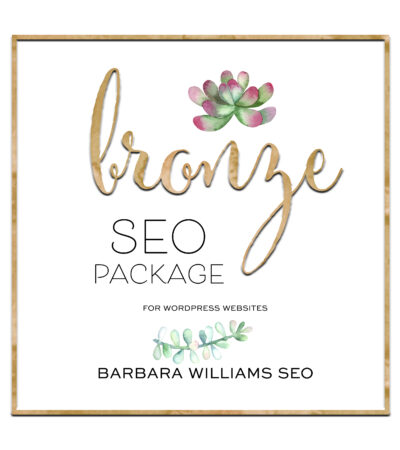 bronze seo basic package 3 pages wordpress websites one page website