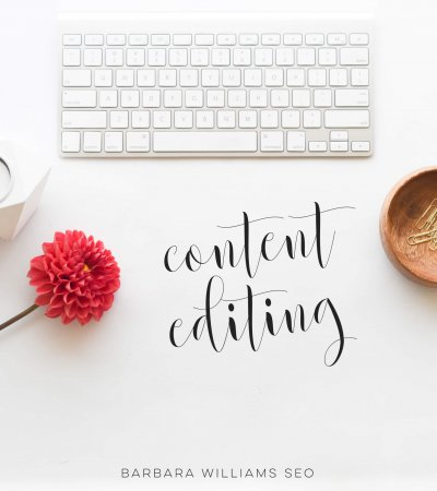 Barbara Williams SEO content editing