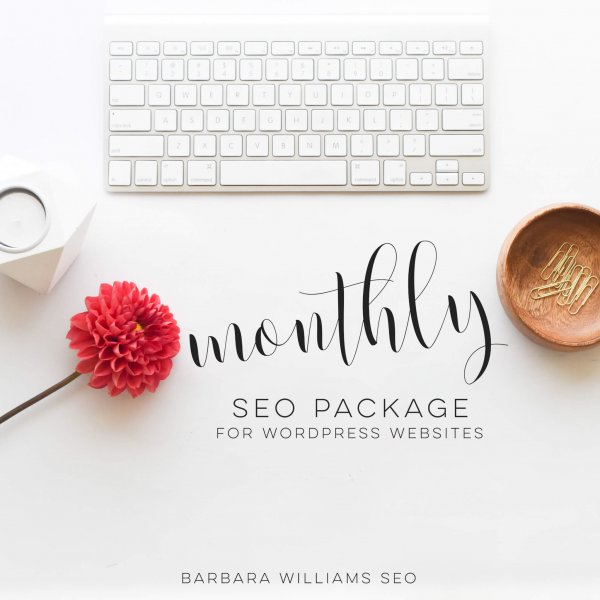 Barbara Williams SEO monthly optimizing package