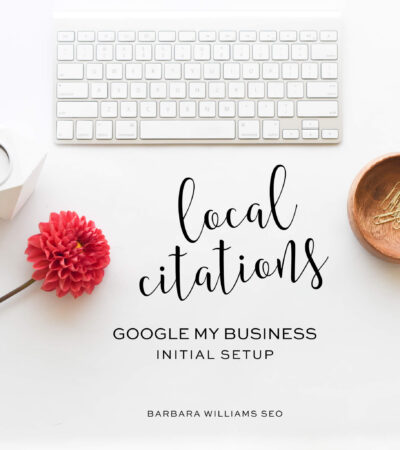 Google My Business initial setup