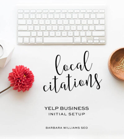 Yelp business page setup