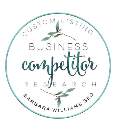 business competitor research custom listing