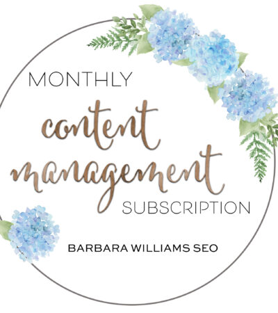 monthly content mgmt